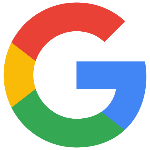 google-white sharing button