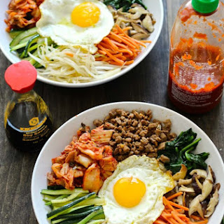 30 Minute Korean Bibimbap.
