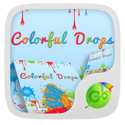 Colorful Drops Keyboard Theme 個人化 App LOGO-APP試玩