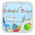 Colorful Drops Keyboard Theme icon