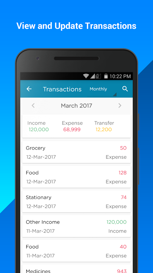 Money Manager, Bill Payment and Reminder- screenshot