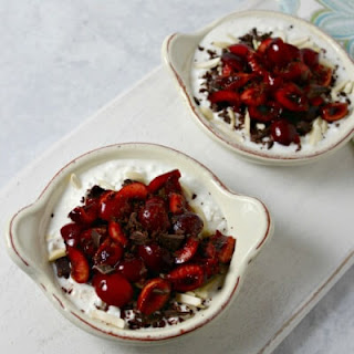 Chocolate Cherry Almond Bowl
