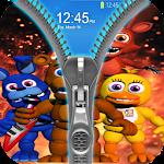 Zipper Lock Screen For Fnaf