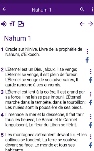 Bible en franu00e7ais courant 1.0 screenshots 16