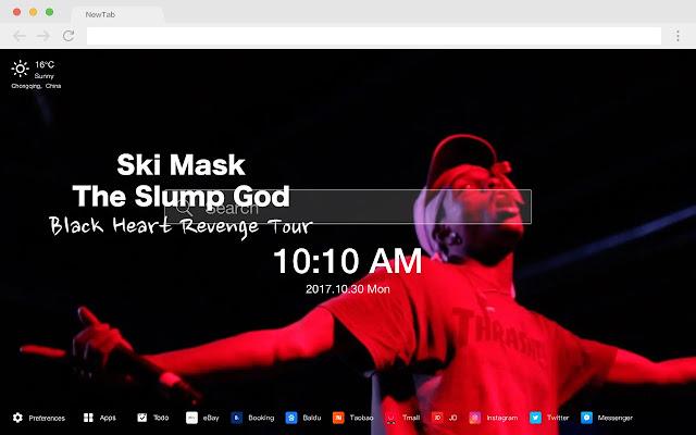Ski Mask the Slump God HD Artists Themes