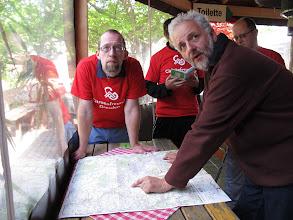Photo: 02.06. - Ausfahrtplanung (mit der Fahrradkarte !! :0)