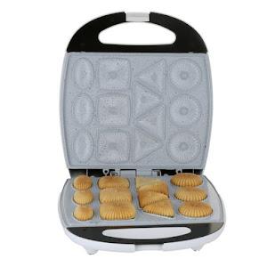 Aparat pentru biscuiti si fursecuri, Hausberg HB3563N, 1300 W, argintiu/negru