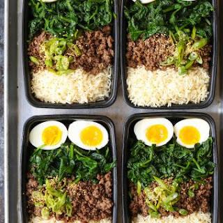 Korean Beef Bowl Meal Prep.