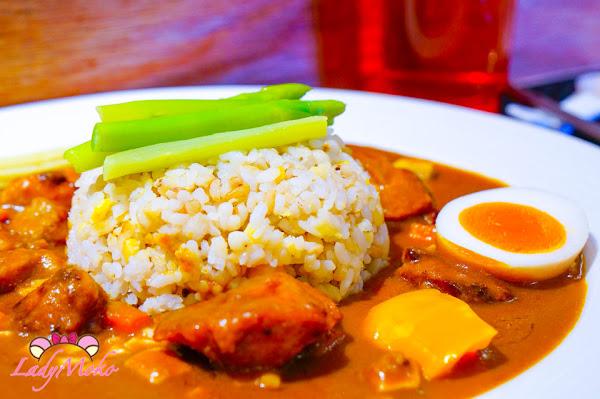 絕對好吃十穀米飯咖哩,晴光商圈美食, 日向海軍咖哩