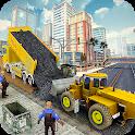 Heavy Duty Road Construction Machine:Excavator sim icon