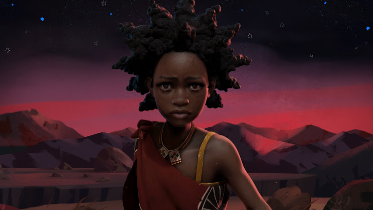 Liyana, the brave, strong character dreamed up by the Swazi orphans, was brought to life by animator Shofela Coker.