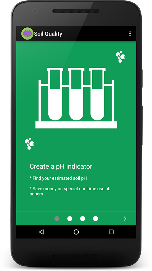 Soil quality ph indicator android apps on google play for Soil quality indicators