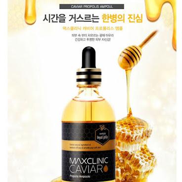 韓國熱銷品牌MAX CLINIC 魚子醬蜂膠精華液 130ml