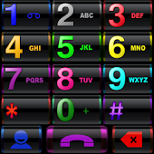 THEME BLACK COLORS EXDIALER
