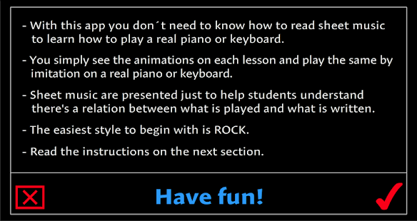 Learn how to play a real Piano- screenshot thumbnail
