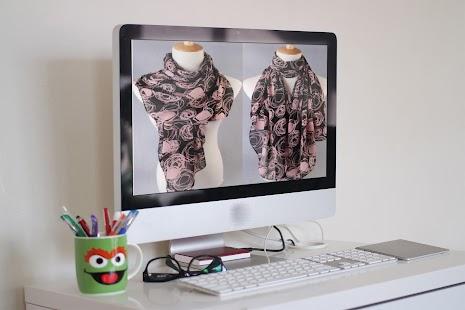 Šála módního návrháře - náhled