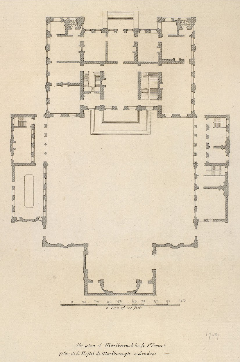 COTE DE TEXAS The Crown Set Locations Part III – Marlborough House Floor Plan