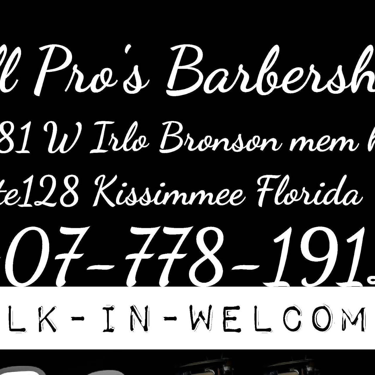 All Pros Barbershop Inc Barber Shop In Kissimmee