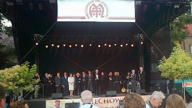 Photo: E9070313 Miechowskie Dni Jerozolimy - przemawia komandor polskich Bozogrobcow