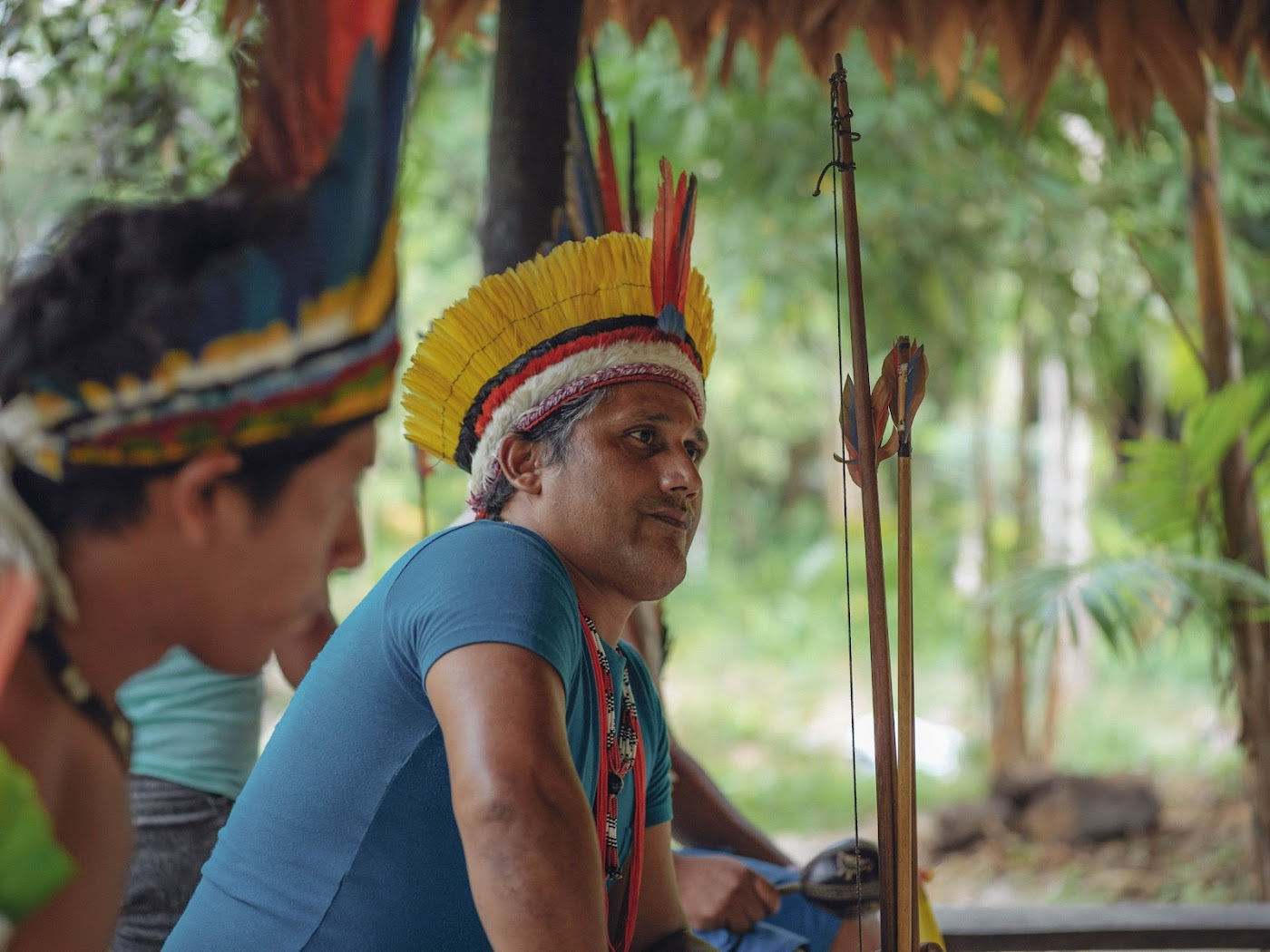 Chief Naldo Tembé used old mobiles to save rainforests of his region.