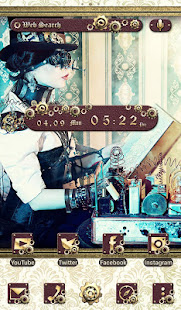 Cool Wallpaper Steam Punk Noble Theme