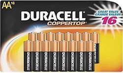 Duracell AA Alkaline Batteries - 16 Pack