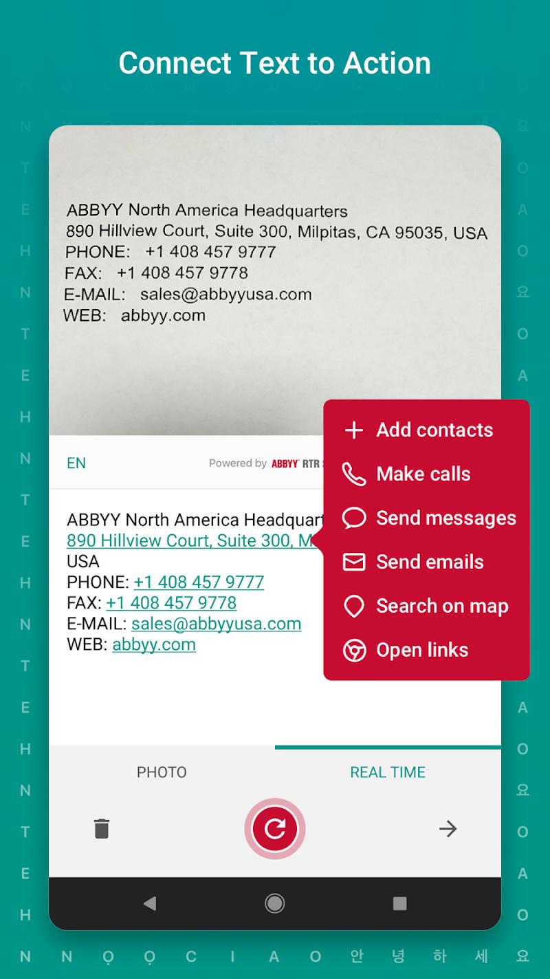 TextGrabber – image to text: OCR & translate photo Screenshot 2