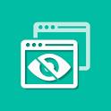 Hide application - Hide app - Hide icon icon