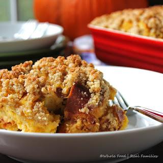 Maple Pumpkin Bread Pudding Recipe