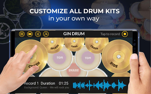 Drums Pro 2020 - The Complete Simulator Drum Kit 2.2.2 screenshots 17