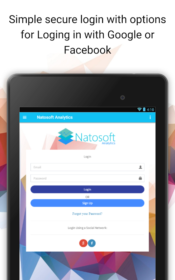 Natosoft Analytics- screenshot