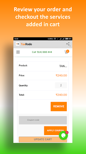 File Income Tax Return, GST Return : TaxRodo com App Report
