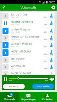 Screenshot of Voicemail App voor Hi klanten