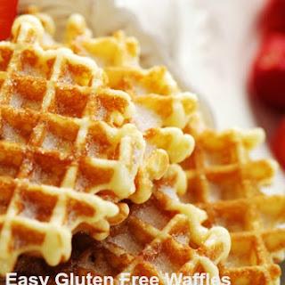 Easy Gluten Free Waffles