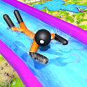 Water Slide Stickman Fun Park icon