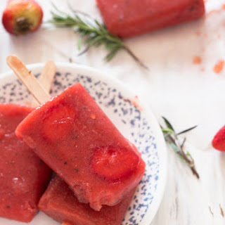 Rosemary & Fruit Popsicles Recipe