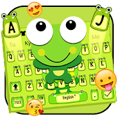 Cute Cartoon Green Frog Keyboard Theme ? Android APK Download Free By ThemesDesignStudio