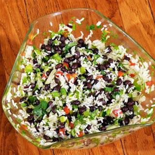 Rice & Black Bean Salad