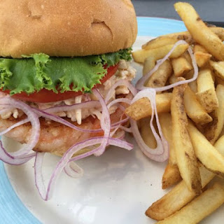 Shrimp Burger.