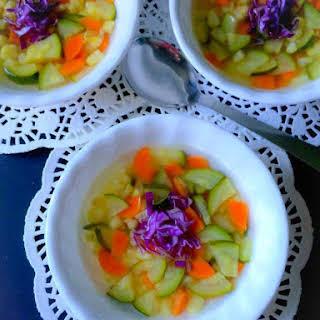 Winter Vegetable Soup (Healthy & Glutenfree).