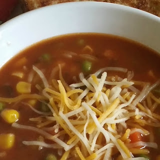 Simple Veggie Soup (Frugal)
