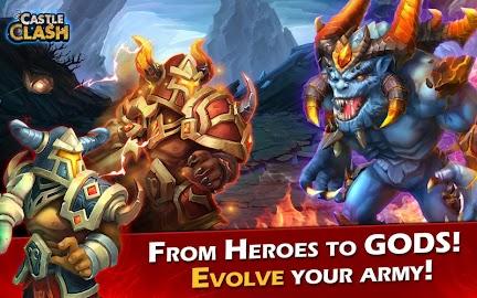Castle Clash: Age of Legends Captura de pantalla 10