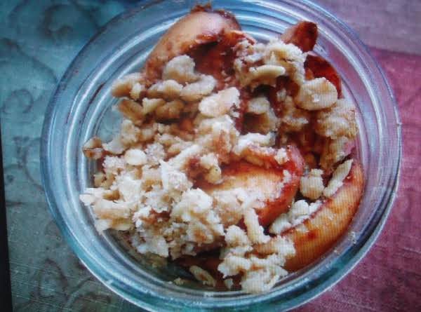 Baked Apple Crisp For One
