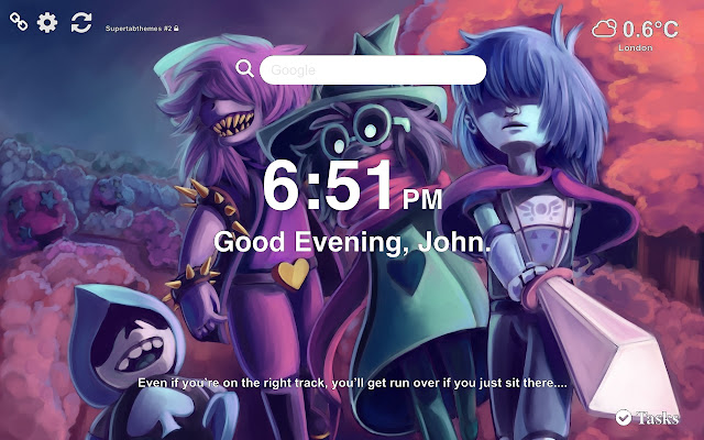 Deltarune HD Wallpapers and New Tab