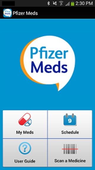 Pfizer Meds- screenshot