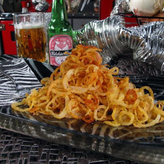 Spicy Onion Rings.