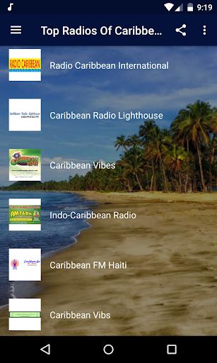 top radios of caribbean - reggae, ska and more! screenshot 2