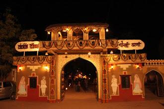 Photo: Rajasthani theme restaurant complex