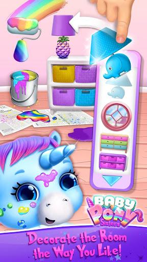Baby Pony Sisters - Virtual Pet Care & Horse Nanny 5.0.14002 screenshots 7