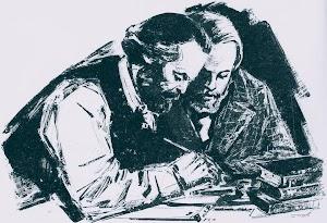 Marx und Engels.